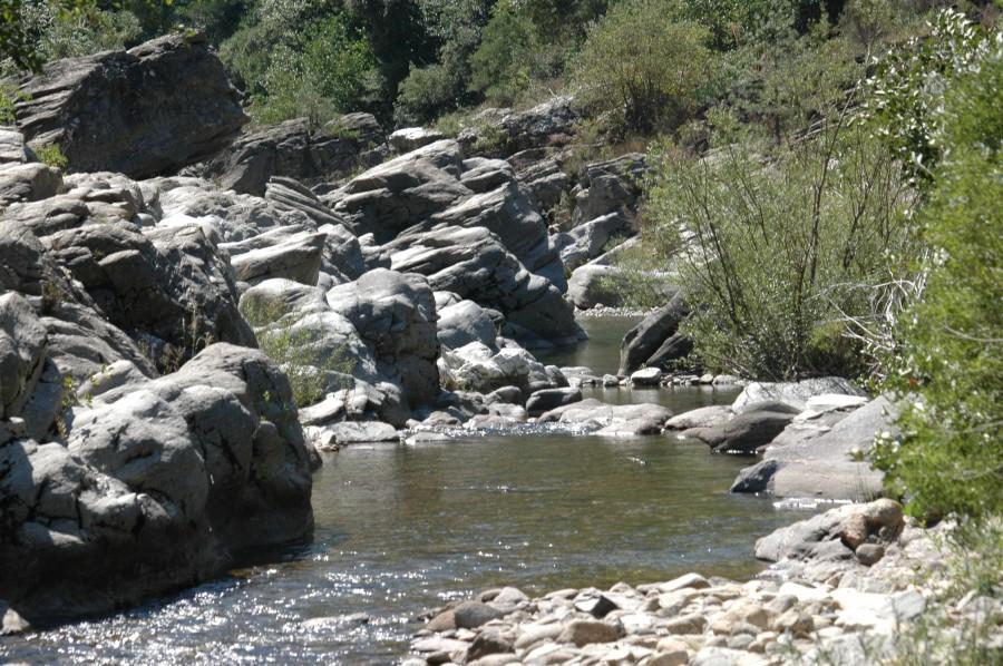La rivière au Moulin du Roure