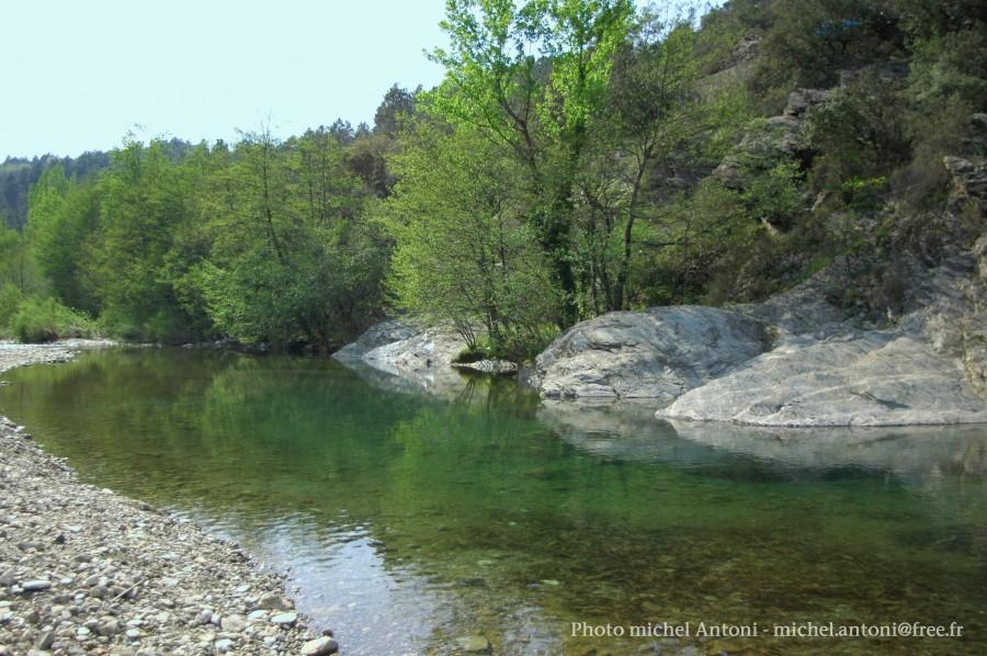 La rivière au pont de souillas