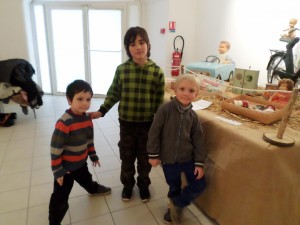 Sortie scolaire au musée des jouets anciens
